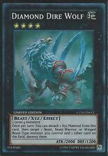 Yugioh CT10-EN012 Diamond Dire Wolf Limited Edition - Super Rare