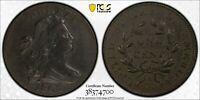 1802 PCGS XF DETAILS DRAPED BUST LARGE CENT  ~ RARE COIN IN XF SHAPE ~ S-229