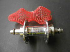 NOS Phil Wood Rear Track Hub Fixed / Free High Fange 32H 126mm Silver MD1