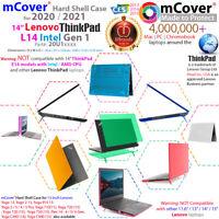 "NEW mCover® Hard Case for 2020 2021 14"" Lenovo ThinkPad L14 Intel Gen 1 Laptop"