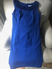 CHARTER CLUB BEAUTIFUL BLUE COLOR  SIZE 10- POLY/SPANDEX DRESS
