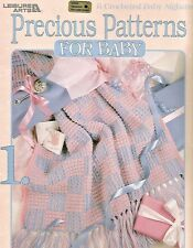 Precious Patterns For Baby Crochet Instruction Patterns Anne Halliday  LA  #3040