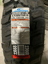 1 New LT 225 75 16 Cooper Discoverer STT Pro 10 Ply Mud Tire