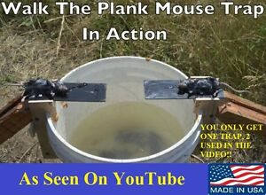 Original Walk The Plank Mouse Trap - Shipped From & Made in Kentucky -USA MADE