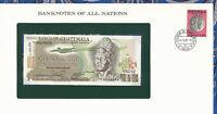 Banknotes of All Nations Guatemala 1/2 Quetzal 1982 P 58c UNC Prefix V