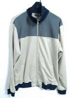 Hurley Co Mens Size Large Khaki/Tan Full Zip Long Sleeve Softshell Jacket