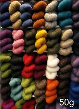50g : Quality Aran Tweed Knitting Yarn Ireland 100% Wool : 30 Different Colours