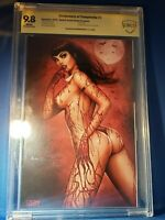 VENGEANCE OF VAMPIRELLA #1 NATHAN SZERDY VIRGIN (COMICS ELITE/NYCC) CGC 9.8