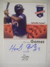 HECTOR GOMEZ Brewers Rockies AUTO 2008 TriStar Projections baseball card signed