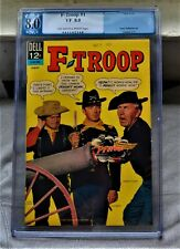 Vtg 1966 F-Troop #1 Pgx 8.0 Vf Silver Age Television Comic Book Not Cgc