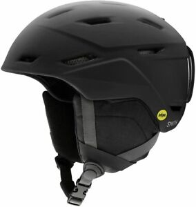 2021 New Smith Optics Mission MIPS Snow/Ski Helmet - Matte Black / Medium