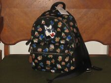 Coach Mini Charlie Nylon Backpack Tea Rose Floral Black Multi F57636 NWT Duster