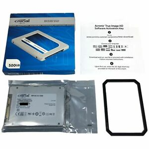 Crucial BX100 500GB SATA 2.5 inch Internal Solid State Drive SSD CT500BX100SSD1