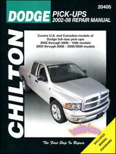 SHOP MANUAL SERVICE REPAIR DODGE RAM TRUCK CHILTON BOOK PICKUP DIESEL HAYNES GAS