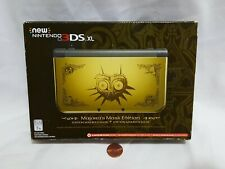 NEW (Read) New Nintendo 3DS XL Zelda Majora's Mask Edition Console System 3d ds