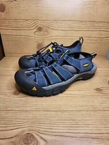 NEW Keen Newport H2 Navy/Medium Grey Sport Sandal Men's Size 9 1001938