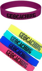 Geocaching Silicone Bracelet Logo Children Gift Adult