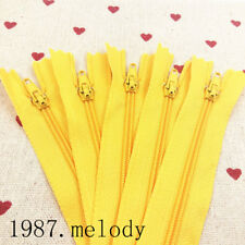 5~500pcs Nylon Coil Zippers Tailor Sewer Craft (9/12/16 Inch) Crafter DIY tools