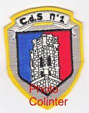 C.d.S. N°1 - Centre de Selection N°1 ( Service National ) - Insigne tissus
