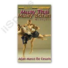 Combat Muay Thai Boran Elbows Dvd Arjarn Cesaris kickboxing 15 blows defense New