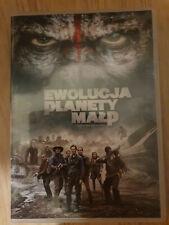 Ewolucja Planety Małp DVD PL Edition