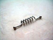 "1 1/2"" Multi Spiral Coil Twist Industrial Barbell 14g Ear Punk Body Jewelry"