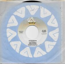 THE KINKS  Superman / Low Budget  45 from 1979