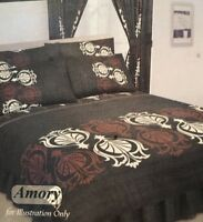 NIGHT ZONE - 4 PIECE COMPLETE BEDROOM SET - DOUBLE - Amory