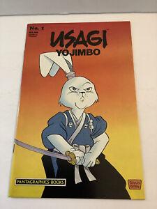 Usagi Yojimbo #1 Comic Book (1987 Fantagraphics Books) 2nd Second Print