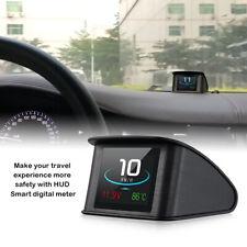 Car Digital HUD Display Smart Driving Computer Heads Up OBD 2 P10 Speedometer