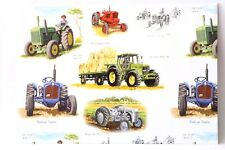 Classic Vintage Tractors TE20 Massey Wrapping Paper x 2