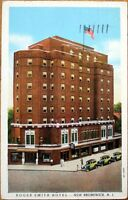 1938 Postcard: Roger Smith Hotel - New Brunswick, New Jersey NJ