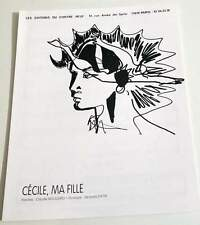Partition sheet music CLAUDE NOUGARO : Cécile, ma Fille * 60's