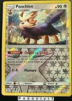 Carte Pokemon PONCHIEN 104/149 Reverse Soleil et Lune 1 SL1 FR NEUF