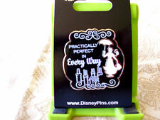 Disney * MARY POPPINS - PRACTICALLY PERFECT * New on Card Trading Pin