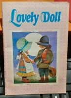 ALBUM FIGURINE VINTAGE STICKER LAMPO 1980,LOVELY DOLL,COMPLETO  sarah kay,hollie
