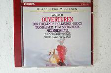 Wagner Ouvertüren Holländer Rienzi Tannhäuser Venusberg Siegfried-Idyll (Box 8)