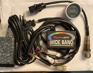 DYNOJET WIDEBAND AFR COMMANDER Kit With Digital Gauge And Dyno Power Attachment