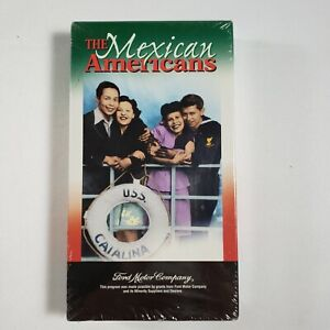 The Mexican Americans [VHS] Ricardo Montalban, Paul Rodriguez (New and Sealed)