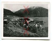 BALHOLM, Norwegen, orig. Foto, Agfa Lupex, 1938, Kreuzer Emden, Norway
