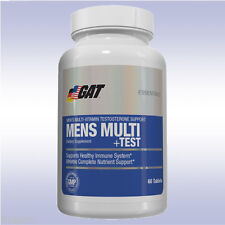 GAT MENS MULTI + TEST (60 TABLETS) multivitamin + testosterone booster nitraflex