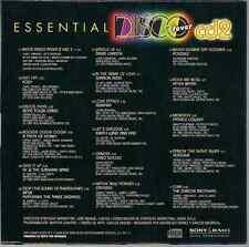 RARE 70's 80's CD Mega disco fever mix 2 LET'S GROOVE Gino Soccio POUSSEZ Foxy