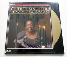 Jessye Norman   Christmastide   PAL   LASERDISC still sealed