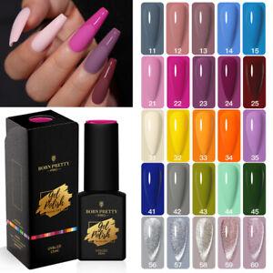 15ml BORN PRETTY Pro UV Gel Nail Art Polish Soak Off Base Top Coat SequinGlitter