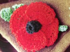Knitted Poppy Knitting Pattern