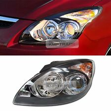 OEM Projection Black Bezel Head Light Lamp LH for HYUNDAI 08-12 Elantra Touring