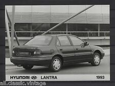 PRESS - FOTO/PHOTO/PICTURE - Hyundai Lantra 1993