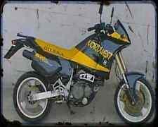 GILERA Nordwest 600 93 A4 Foto Impresión moto antigua añejada De