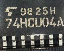 20  Toshiba TC74HCU04AF Hex invertor unbuffered 74HCU04D 74HCU04AF 74HCU04 SO14
