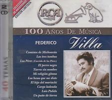 CD - Federico Villa NEW 100 Anos De Musica 2 CD's FAST SHIPPING !